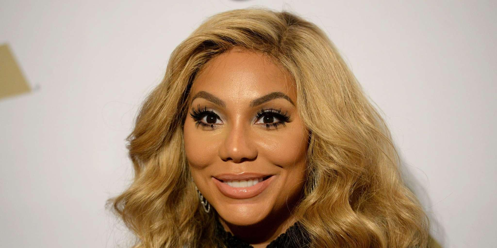 Tamar Braxton Tries To Make A Fashion Video But All Her Boo, David Adefeso, Wants Is To 'See Her On A Plate'