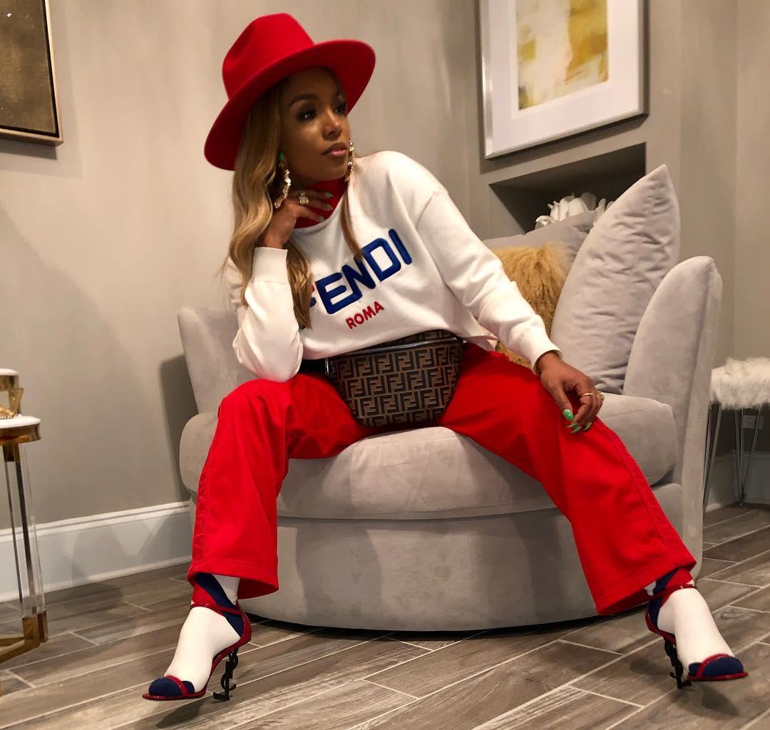 Rasheeda Frost Never Disappoints Her Fans Fashion-Wise, Not Even On A Regular Day