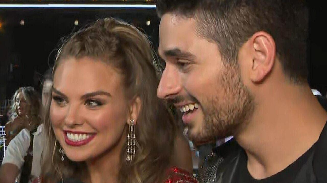 Hannah Brown Says She's Happy Being Single Amid Rumors She's Dating Her DWTS Partner Alan Bersten