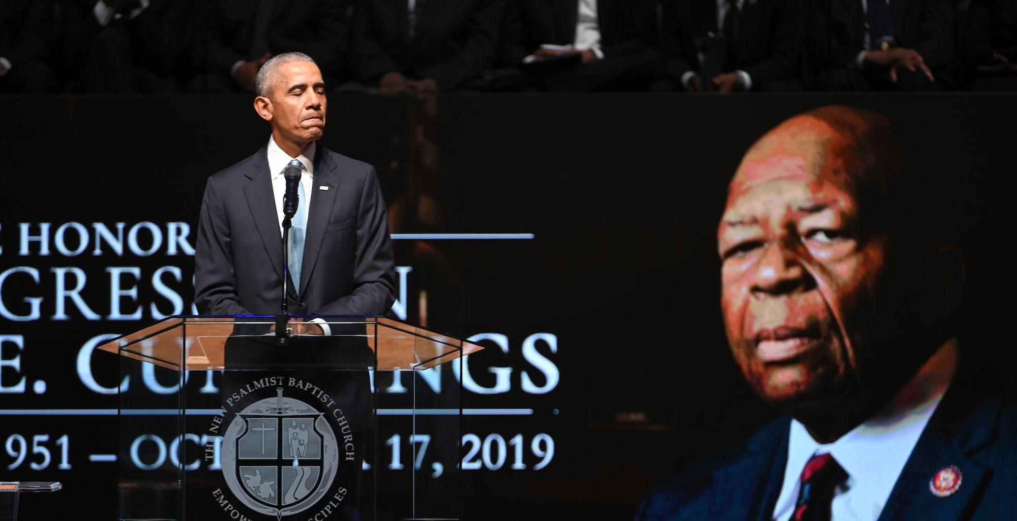 Barack Obama Delivers Emotional Eulogy For Rep. Elijah Cummings, President Donald Trump Was Not Present At The Funeral