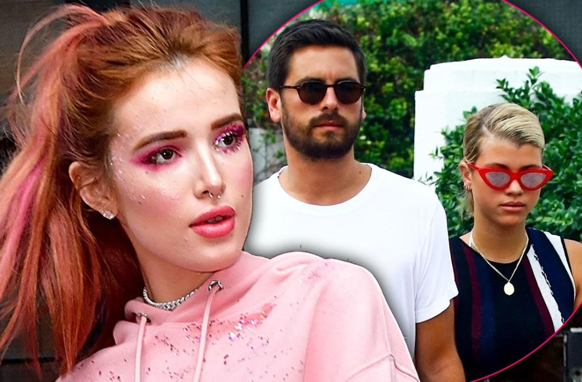 Scott Disick And Sofia Richie Avoid Bella Thorne At Guitar Hotel Opening
