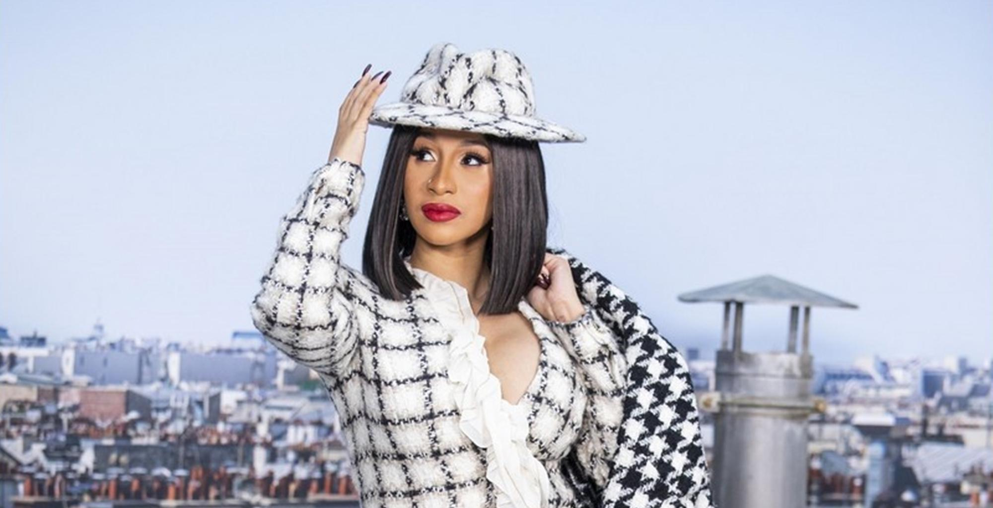 Cardi B Reveals The Very Private Treat She Gave Offset In New Photo For The Titanic Diamond Ring He Gave Her For Her Birthday