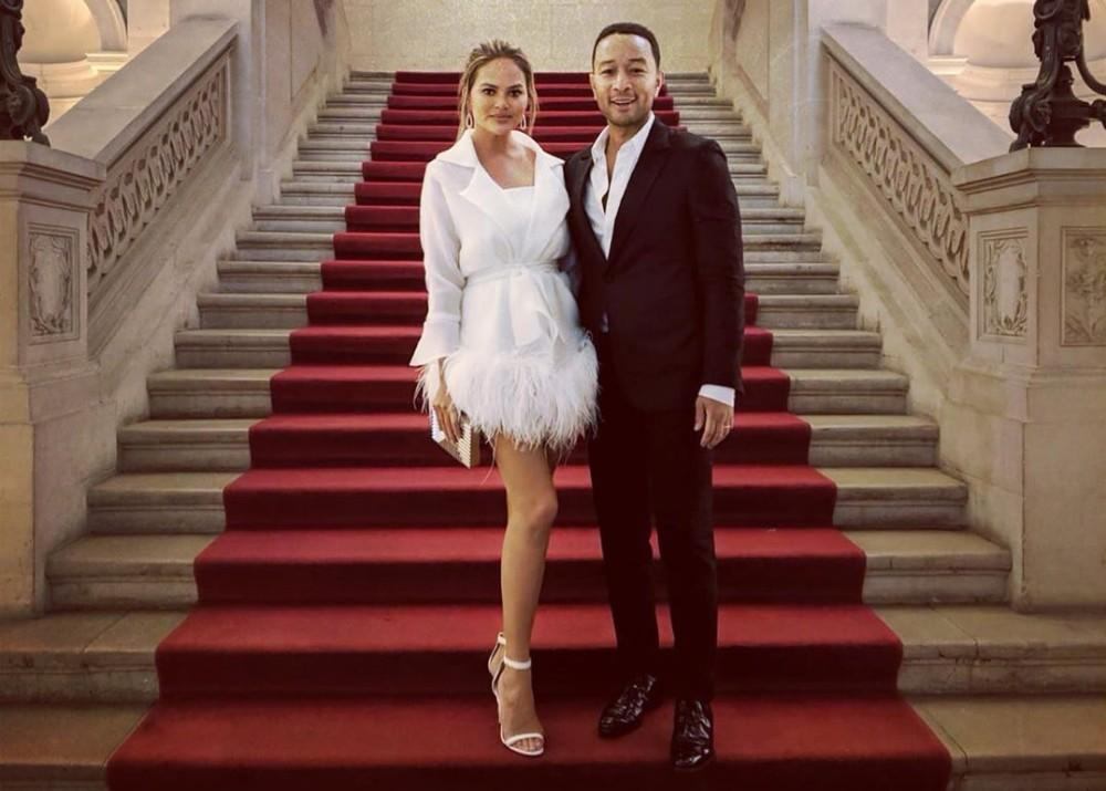 Chrissy Teigen Speaks Out On How Q-Anon Rumors That She And John Legend Are In A Pedophile Ring Are Taking A Toll