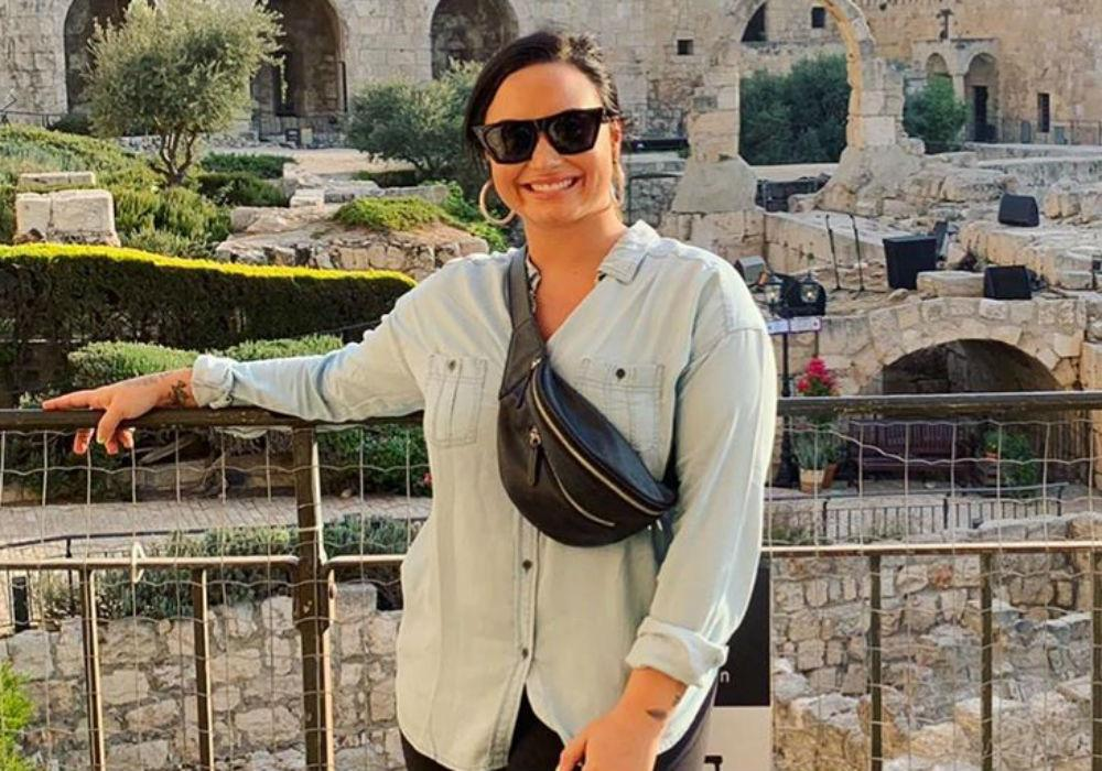 Demi Lovato Responds To Backlash Over Her Trip To Israel - 'This Was Meant To Be A Spiritual Experience For Me'