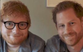 Prince Harry And Ed Sheeran Unite As Gingers For World Mental Health Day