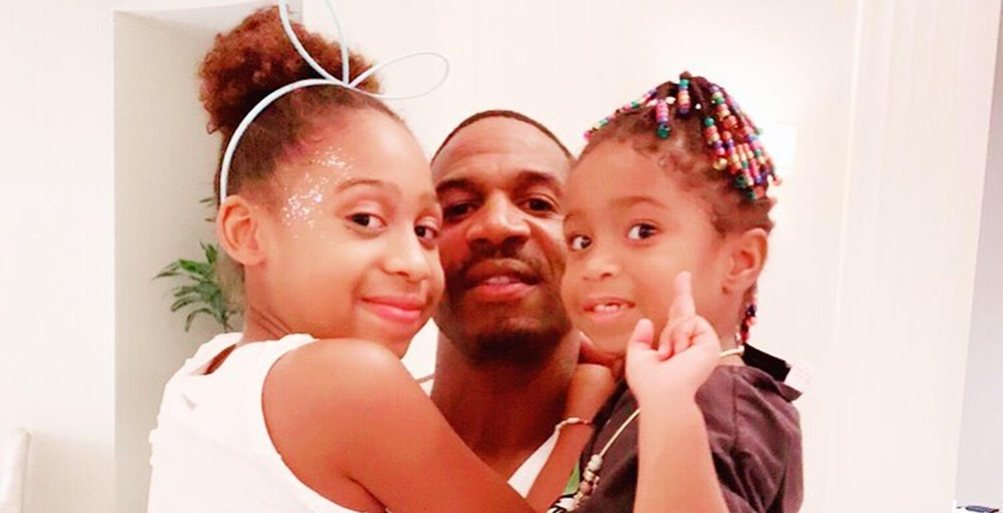 Stevie J Shares Adorable Video Of Daughters Bonnie Bella And Eva Giselle Looking Like Twins But Mimi Faust's Beauty Stole The Show