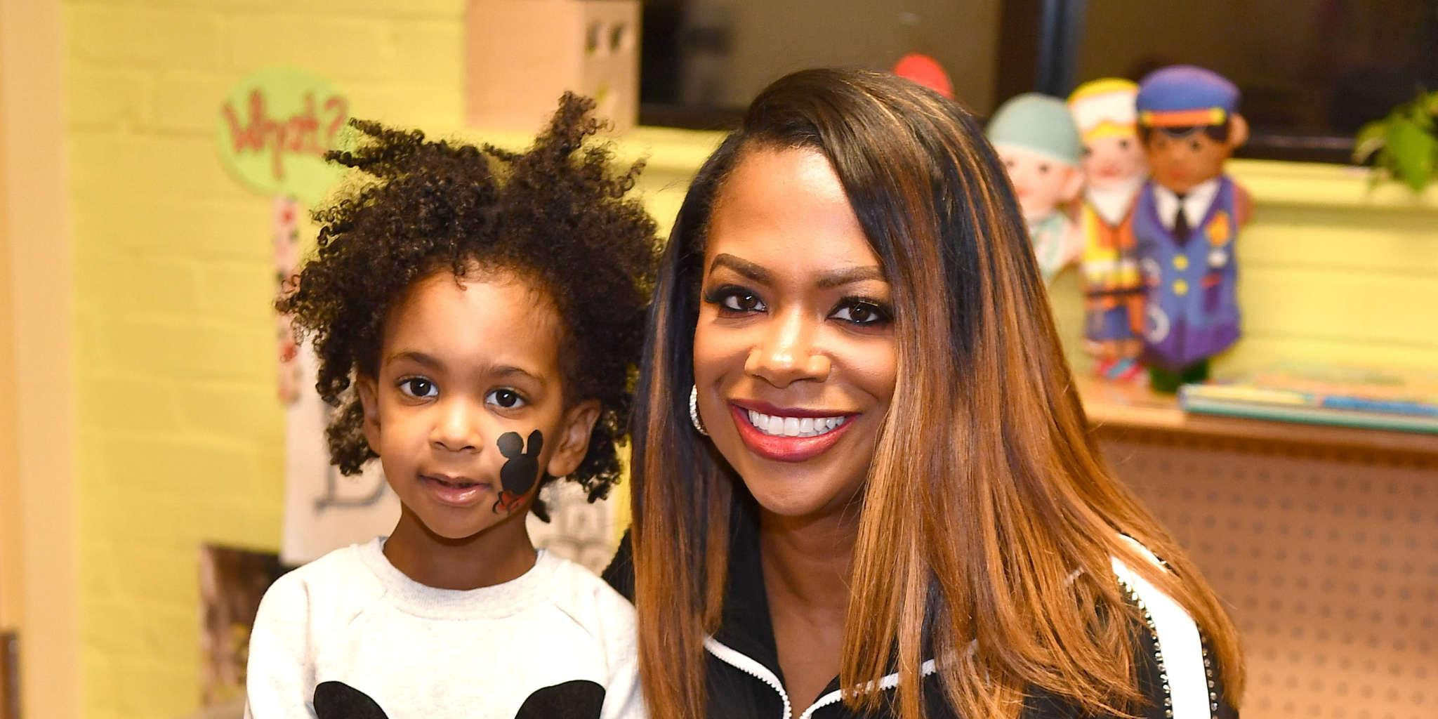 Kandi Burruss Gushes Over Ace Wells Tucker's Two Costumes For Halloween - Check Out The Sweet Pics