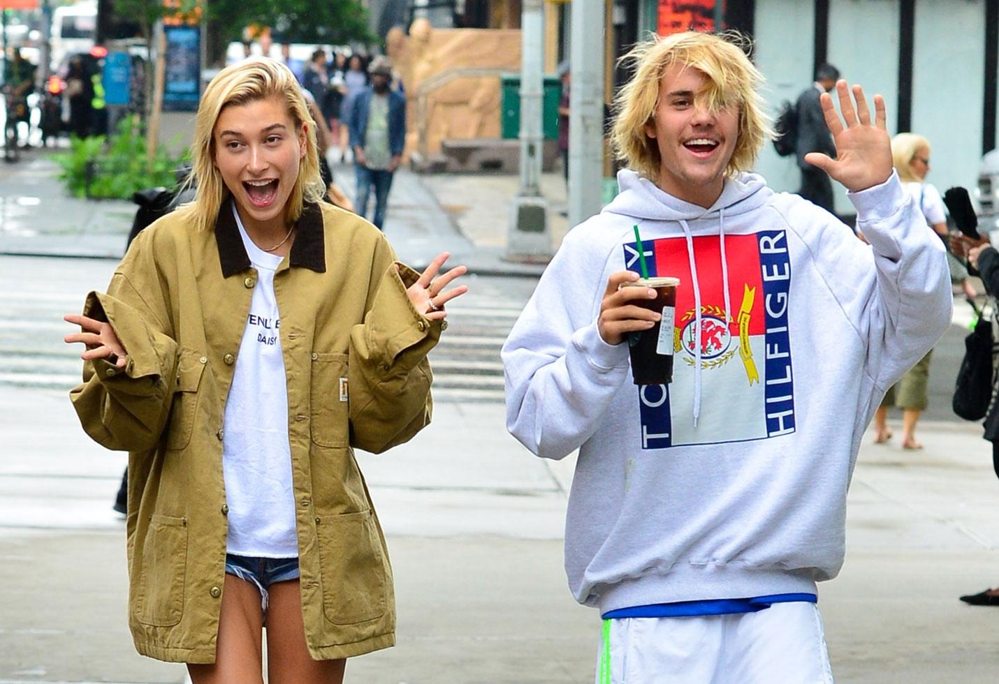 Hailey Baldwin Isn't Worried About Shade From Selena Gomez But Is Nervous That Songs Will Trigger Justin Bieber