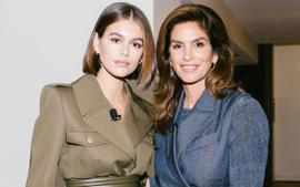 Watch Kaia Gerber And Cindy Crawford Speak At Vogue's Forces Of Fashion Conference