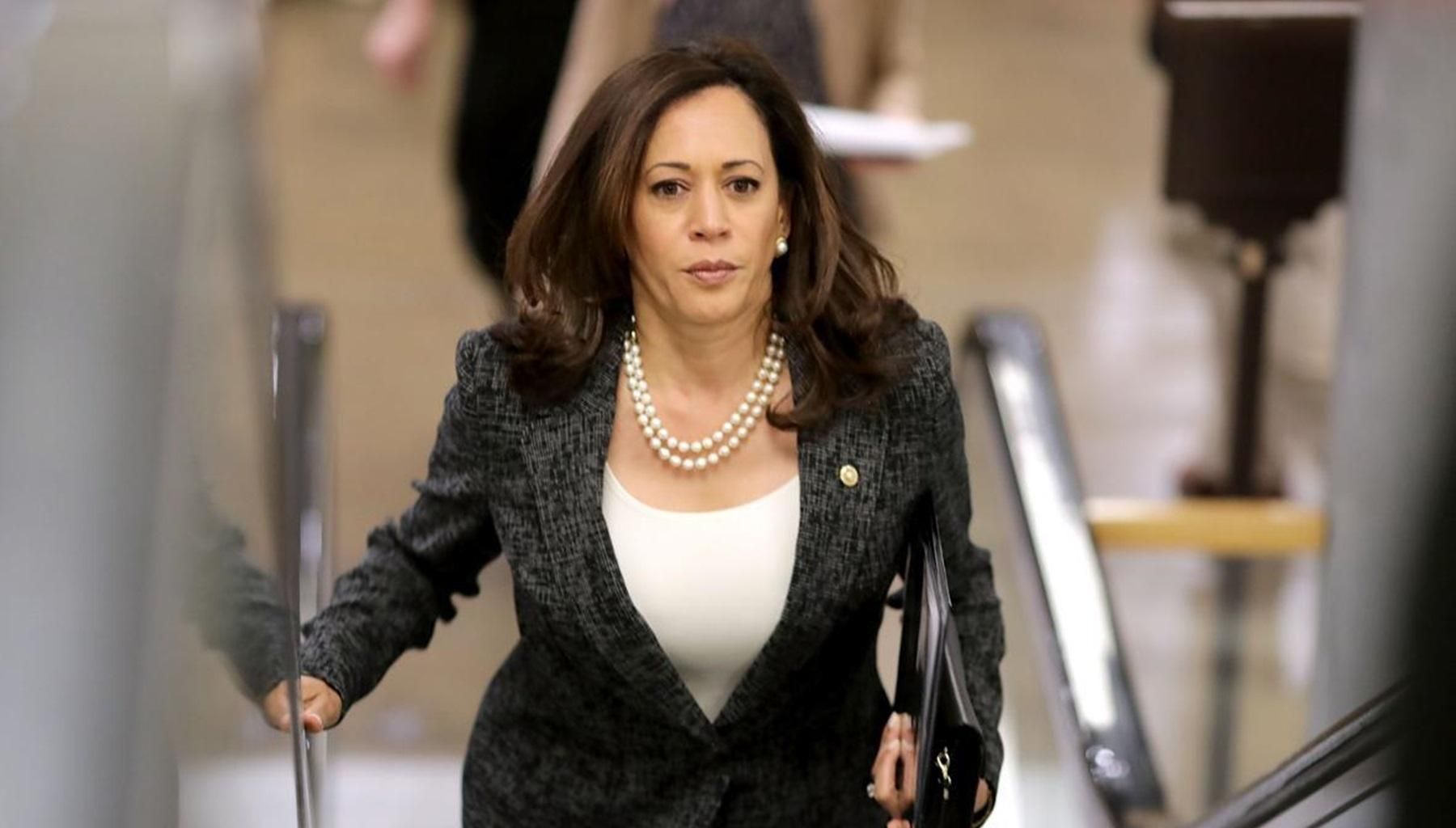 Kamala Harris Explains Why Donald Trump's Activities On Twitter Should Get Him Suspended
