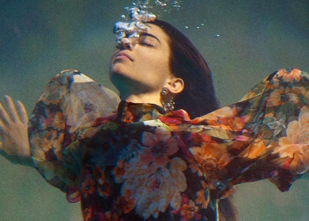 Kendall Jenner Transforms Into A Mermaid In New Ciao Kendall Reserved Campaign — Watch Video