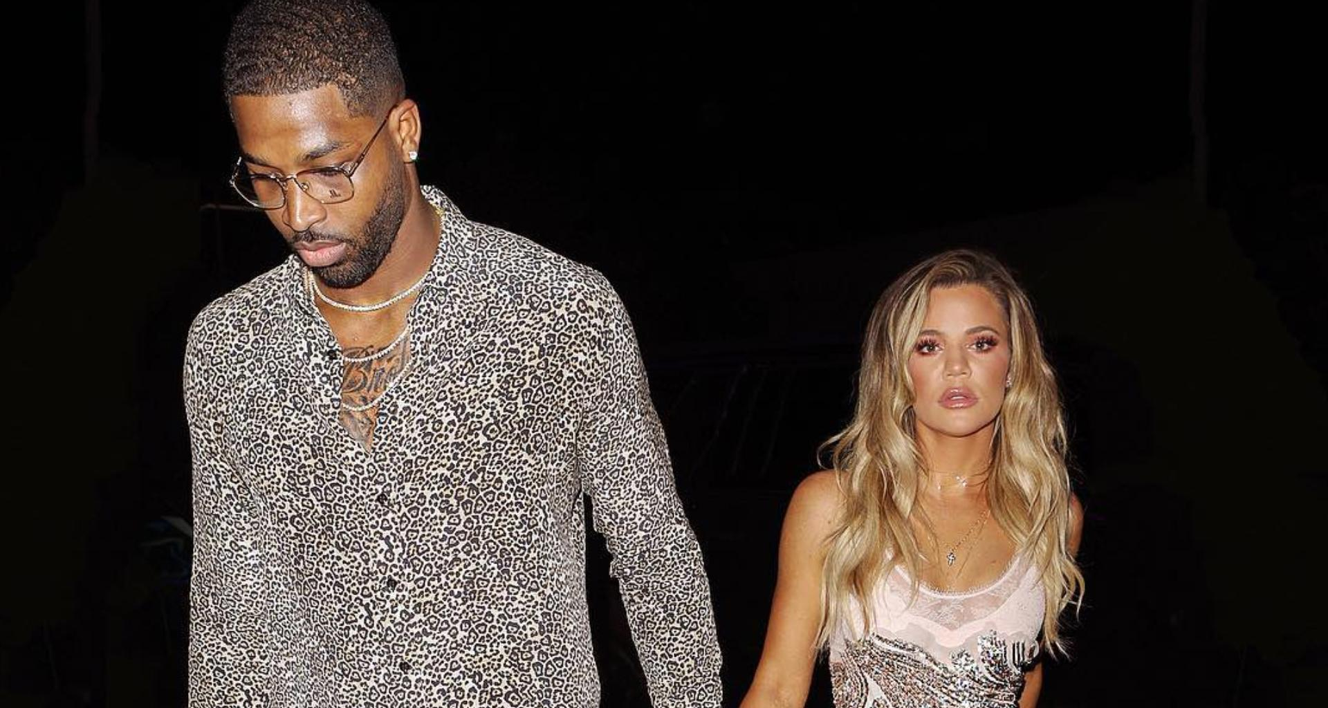 Khloe Kardashian Bakes Tristan Thompson A Cake -- It Appears That The Exes Are Back Together From These Photos!