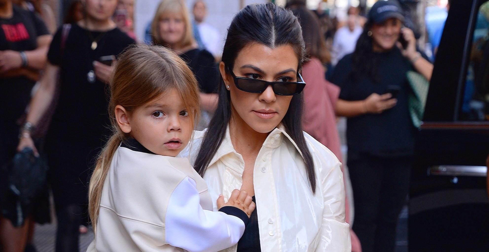 KUWK: Kourtney Kardashian's 4-Year-Old Son Flips Paparazzi Off In Viral Video!