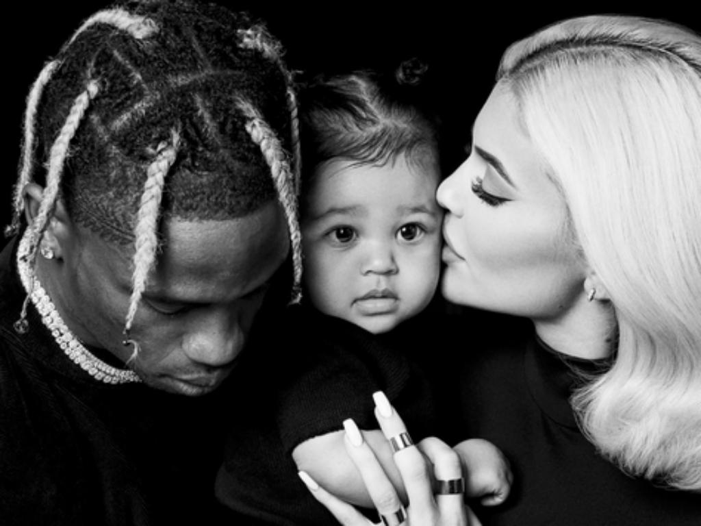 Kylie Jenner And Travis Scott Reunite To Enjoy Family Time With Stormi Webster