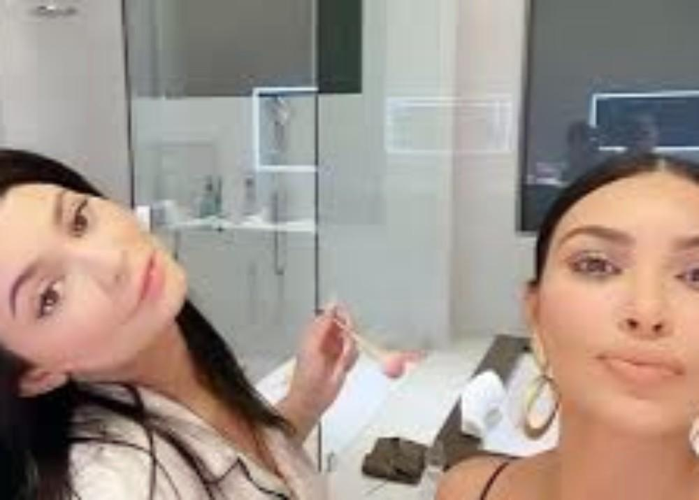 Kylie Jenner Does Kim Kardashian's Makeup As Birthday Girl Turns 39-Years-Old On Monday