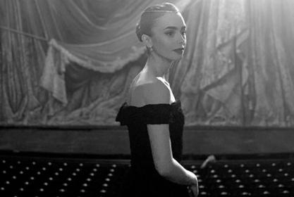 Lily Collins Is Giving Audrey Hepburn Vibes In Gorgeous Photo For Upcoming TV Series Emily In Paris