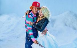 Nicki Minaj And Husband Kenneth Petty Are Chucky And Bride Of Chucky For Halloween As Singer Shows Off Million Dollar Wedding Ring