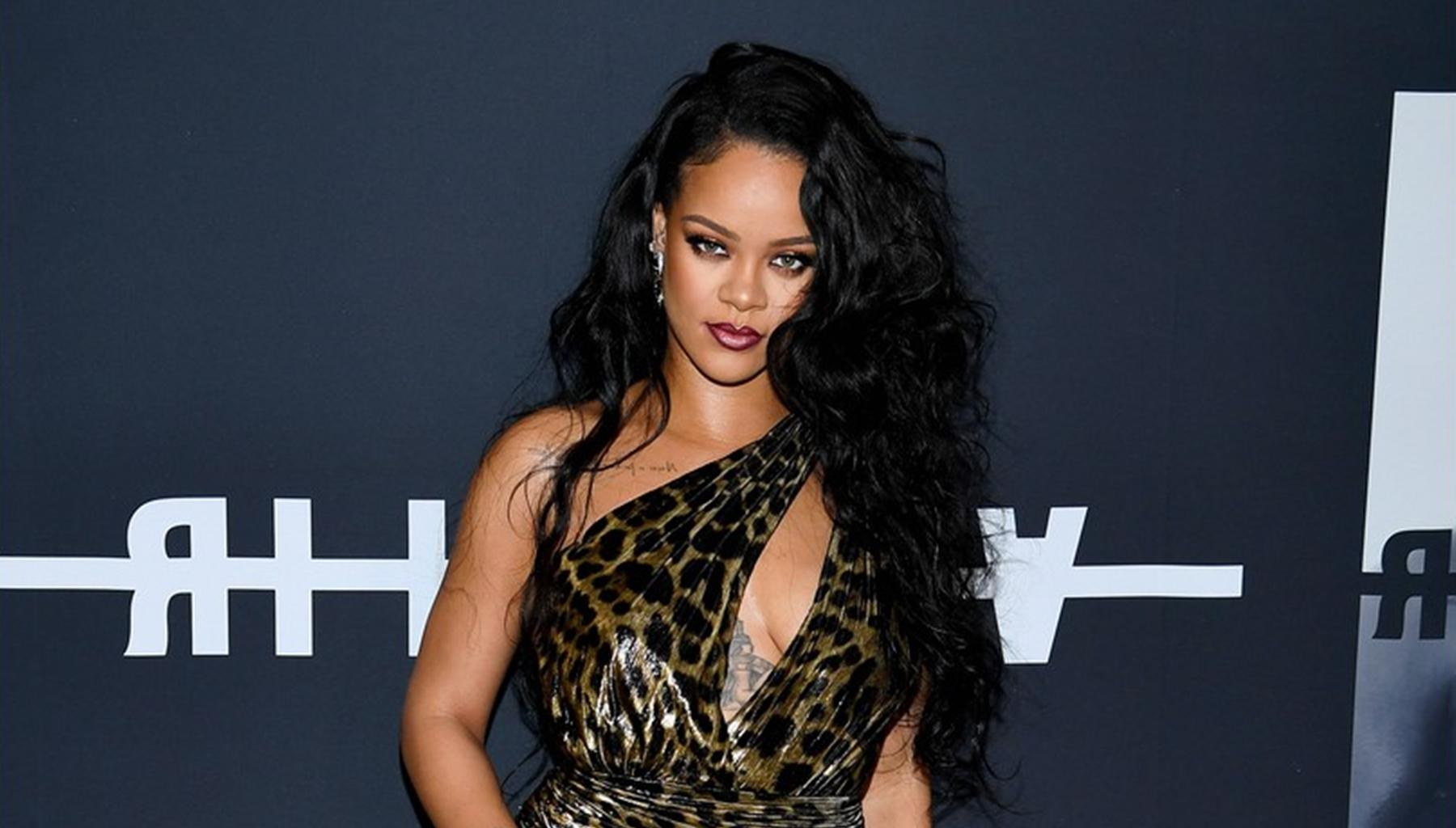 Rihanna Kills It In Leopard Print Dress -- Photos Are A Hit; Fellow Artists Michelle Williams And YG Are Also Rocking This Trend