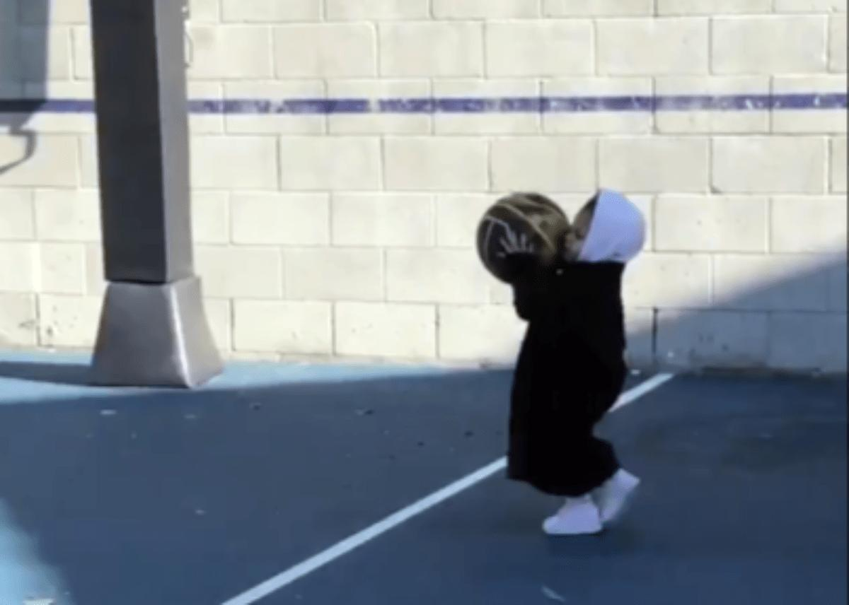 Stormi Webster Playing Basketball For The First Time Is The Cutest Thing Ever — Kylie Jenner Shares Adorable Video