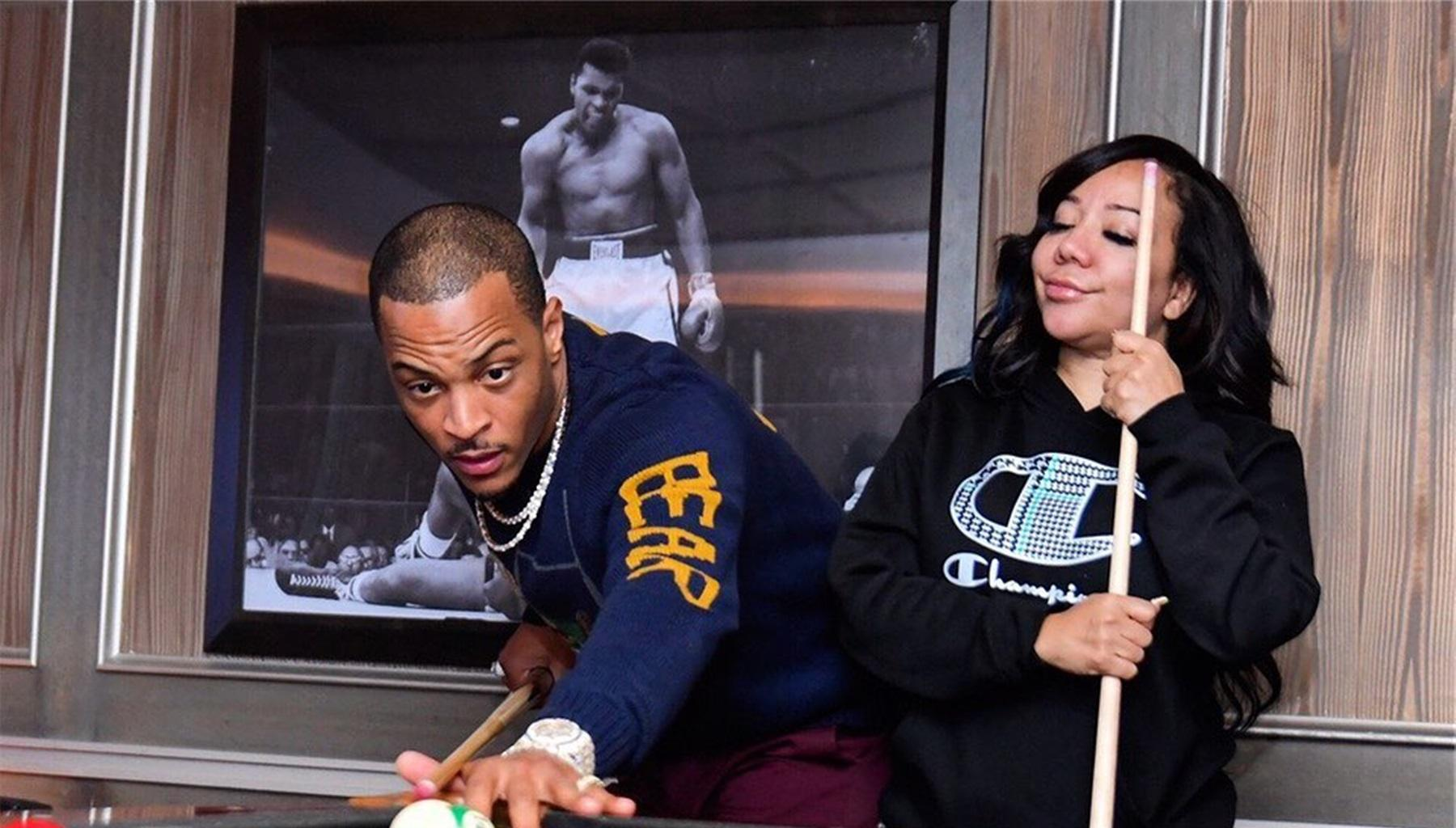 Tiny Harris And Husband T.I. Have Lovers' Squabble Over Marriage And Being With Someone Desirable