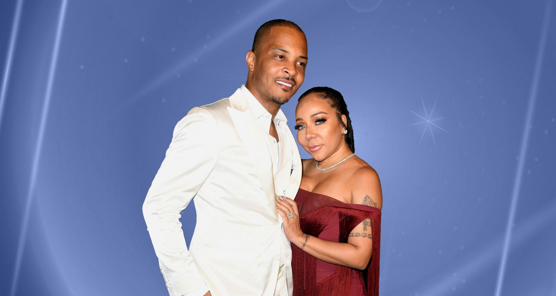 T.I. Raves About His 'Tolerant Wife' Tiny Harris - Admits He Wasn't 'Ready' For Marriage At First!