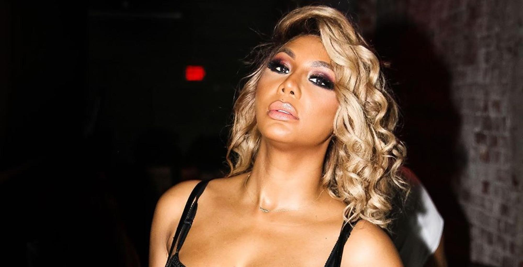 Tamar Braxton Leaves Little To The Imagination In New Photos As She Joins Kandi Burruss To Get More Coins -- The Singers Have Come A Long Way