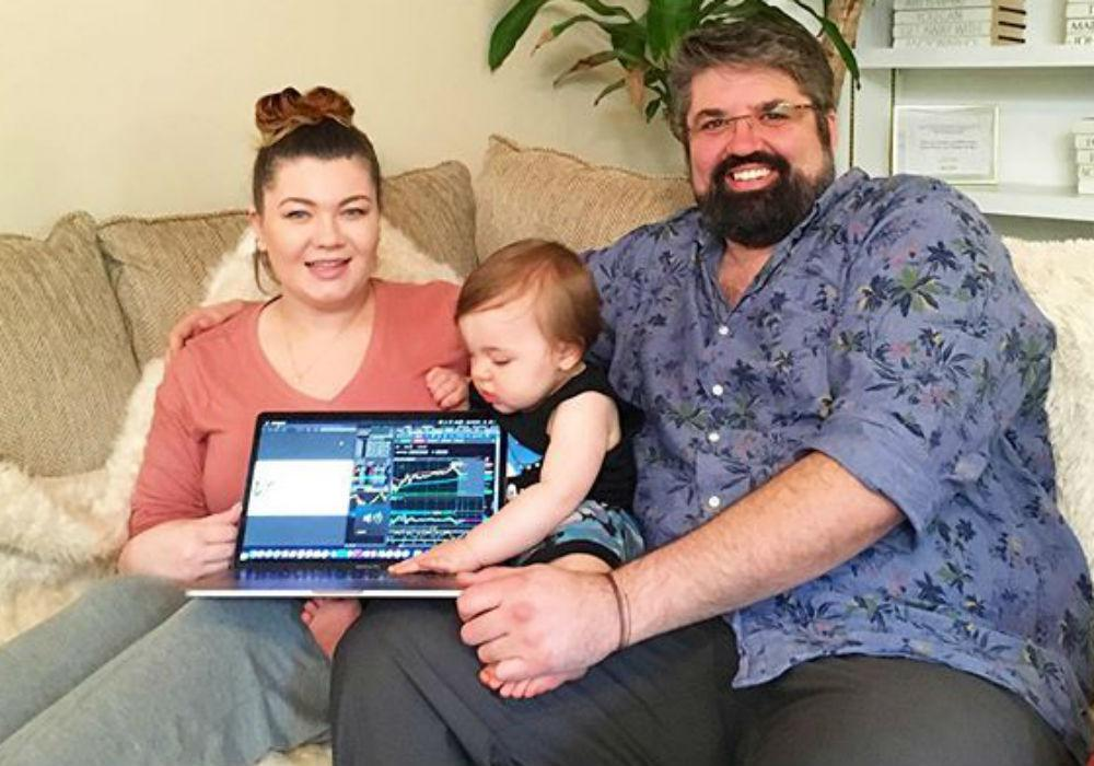 Teen Mom - Amber Portwood And Andrew Glennon Reach Mediation Agreement Over Custody Of Their Son