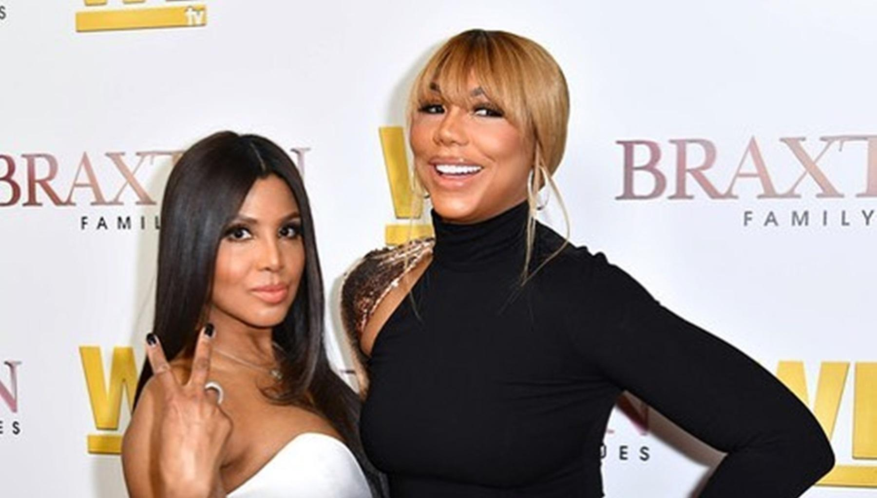 Tamar Braxton Yells 'What The F' After Toni Braxton Lights Up Instagram With Another Revealing Photo Flaunting Her Weight Loss