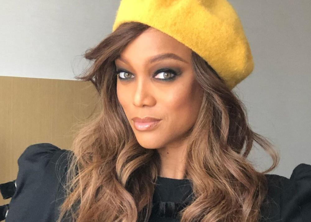 Tyra Banks Stuns In Photos For TV One's Uncensored