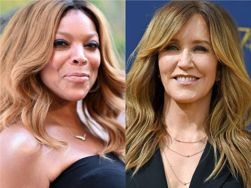Wendy Williams Slams Felicity Huffman For Allowing Her Family To Visit During Jail Stint -- Host Cries About Her Time In The Halfway House
