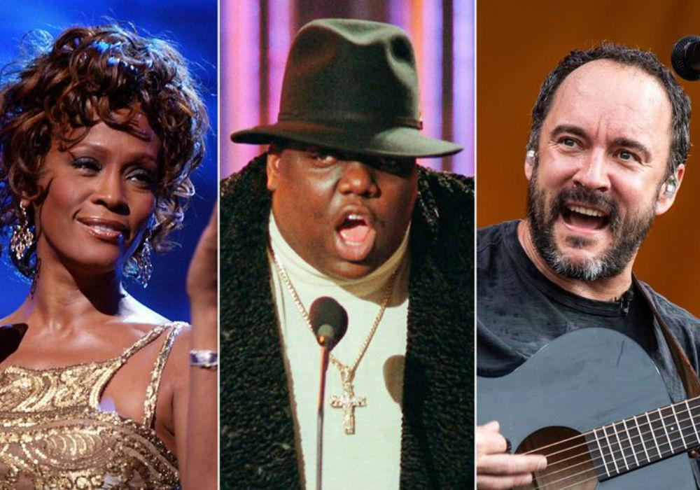 Whitney Houston, The Notorious B.I.G., & Dave Matthews Band Among Nominees For Rock & Roll Hall Of Fame