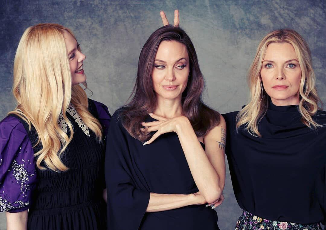 Angelina Jolie Tells Michelle Pfeiffer She Has A Crush On Her During Video Interview - Check It Out!