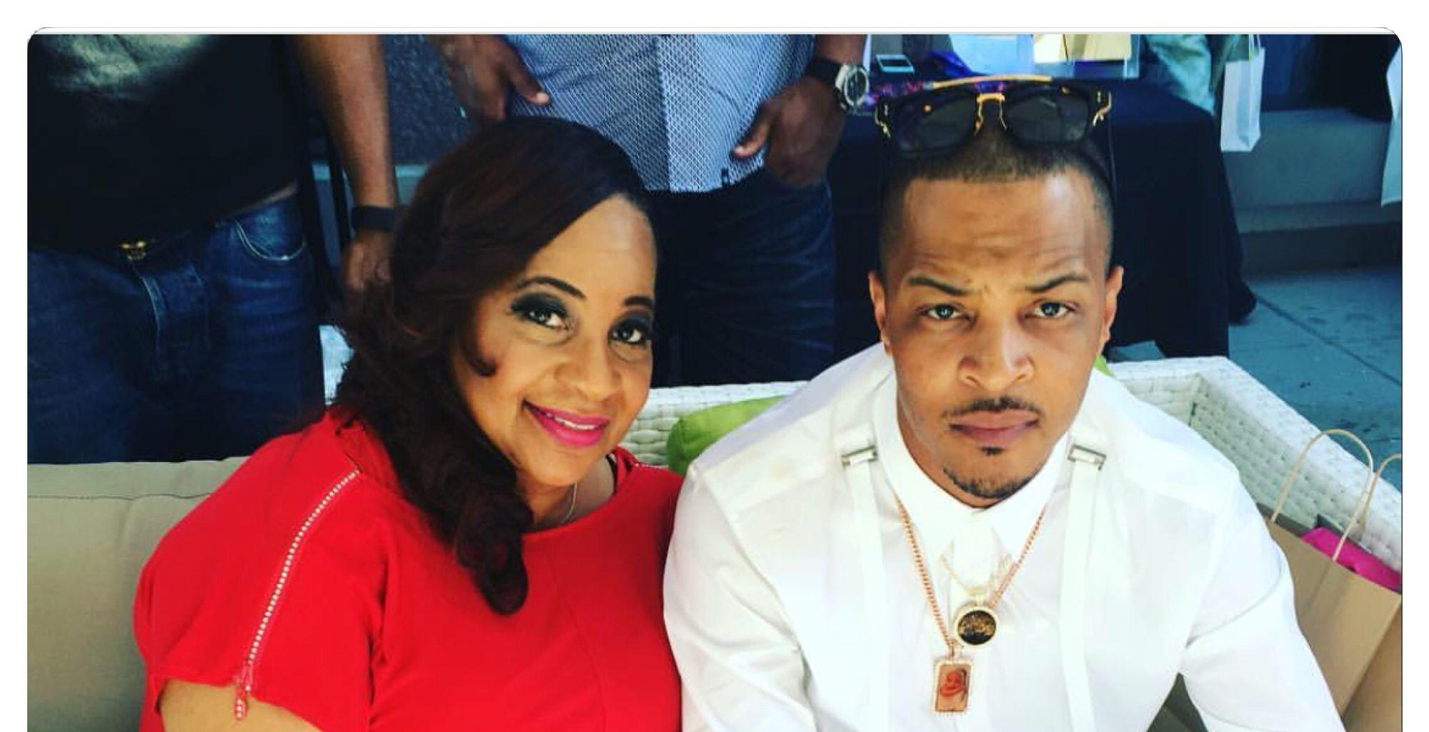 T.I. Shares A Photo Featuring Himself And His Mom, Violeta, Whom He Calls His 'Oldest Daughter'