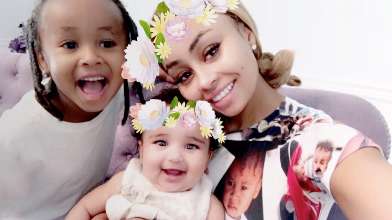Blac Chyna Has Fun Day Out At Pumpkin Patch With Her Kids Dream And King Cairo