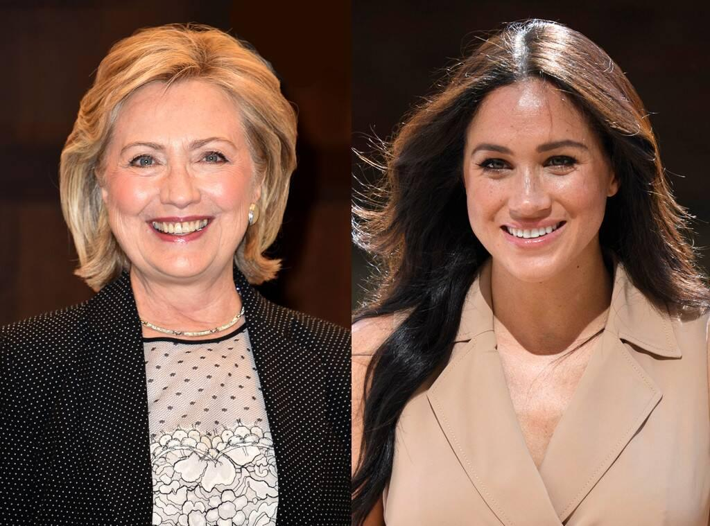 Hillary Clinton Praises Meghan Markle And Defends Her Against The 'Inexplicable' Way She's Been Treated In The Media