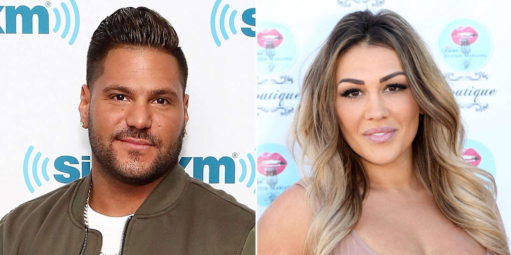 Jen Harley Seemed 'Unhappy' While At A Bash With Ronnie Ortiz-Magro Prior To His Arrest, Eyewitness Says
