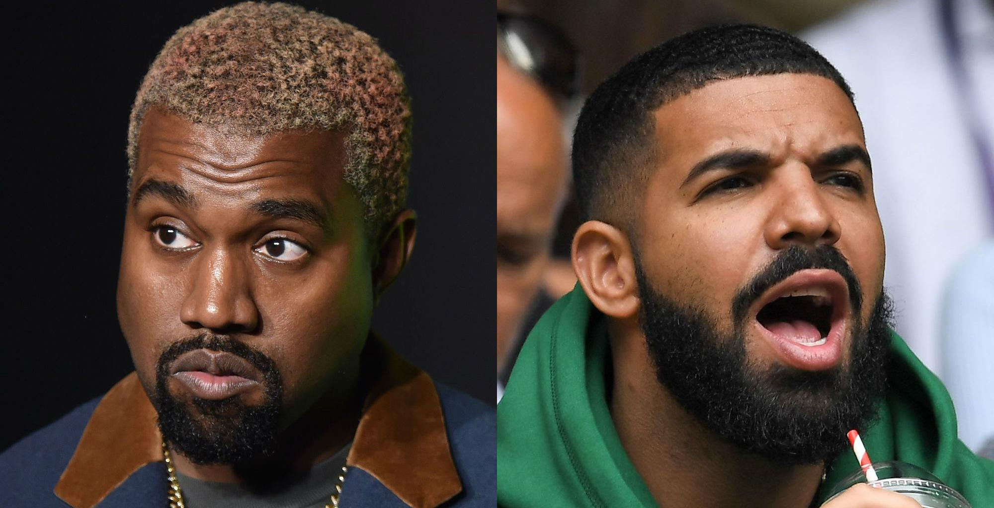 Kanye West Says He And Drake Are Still Beefing Even Though He's Tried To Fix Things!
