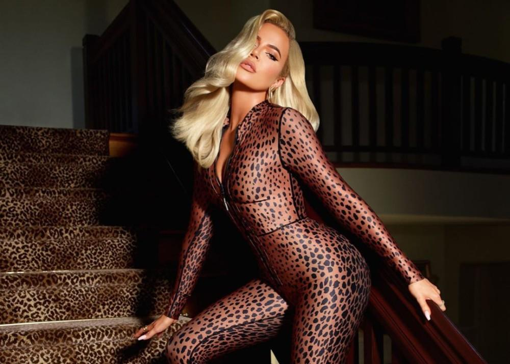 Khloe Kardashian Gets Wild In New Leopard-Print Jumpsuit