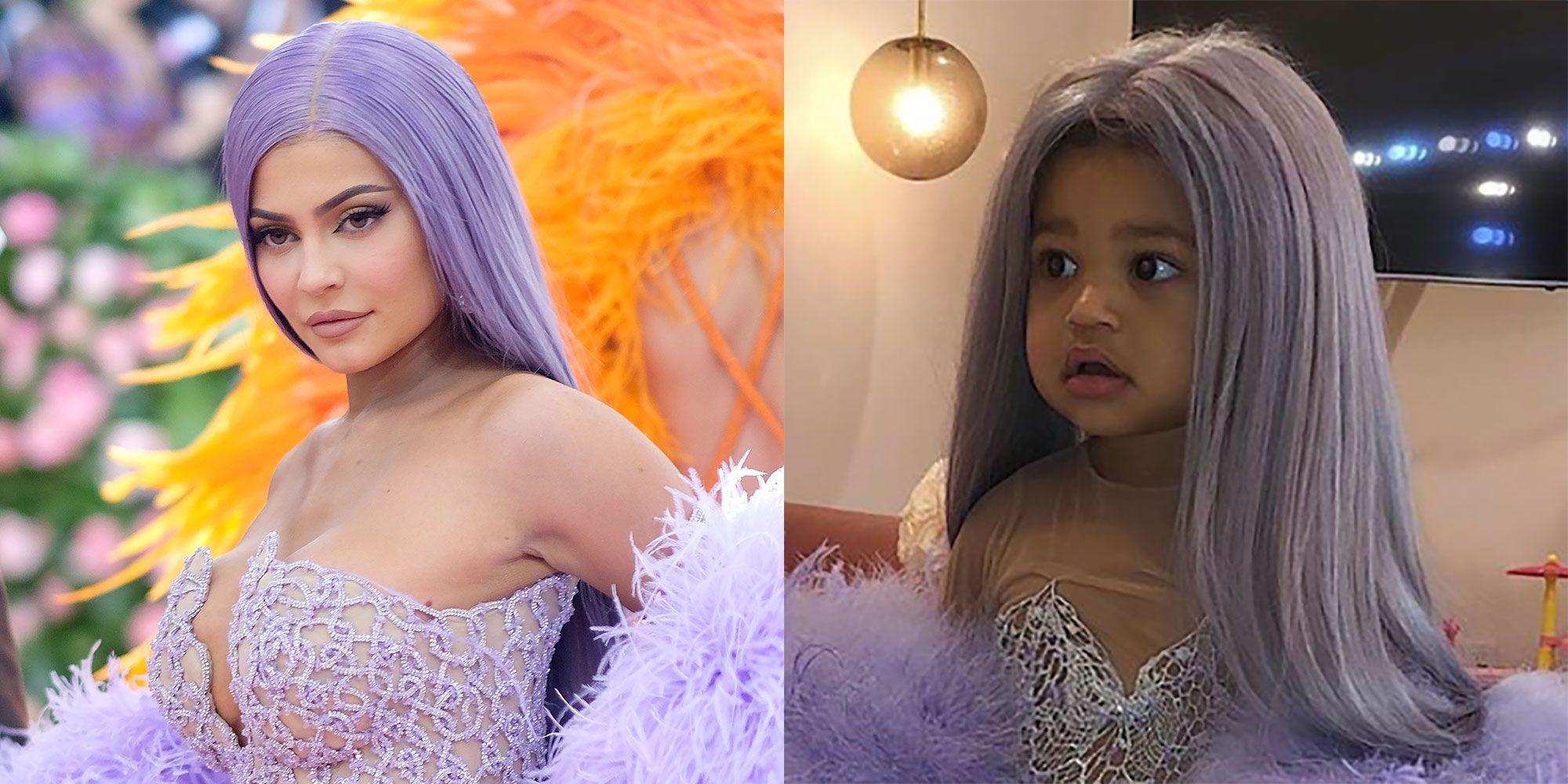 Kylie Jenner's Baby Girl Stormi Channels Her Mom's Met Gala Look - Check Out The Sweet Video