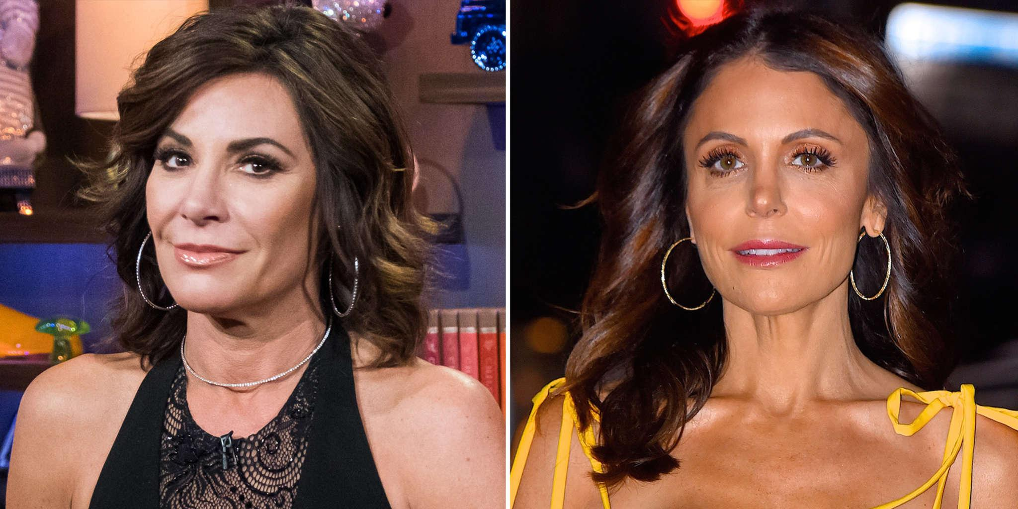 Luann De Lesseps Claims The Whole RHONY Cast Is 'Relieved' That Bethenny Frankel Is No Longer On The Show!