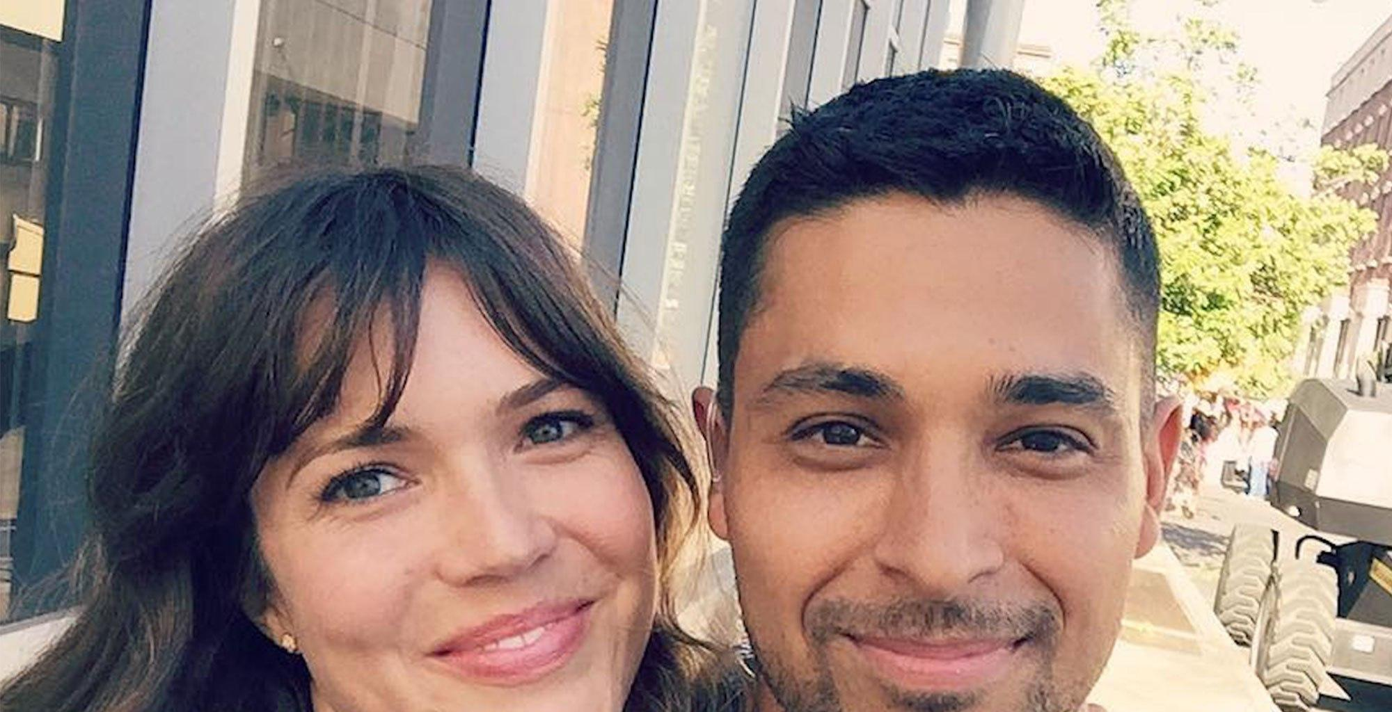 Mandy Moore And Wilmer Valderrama - The Friendly Exes Ran Into Each Other And Were Actually Excited To Meet!