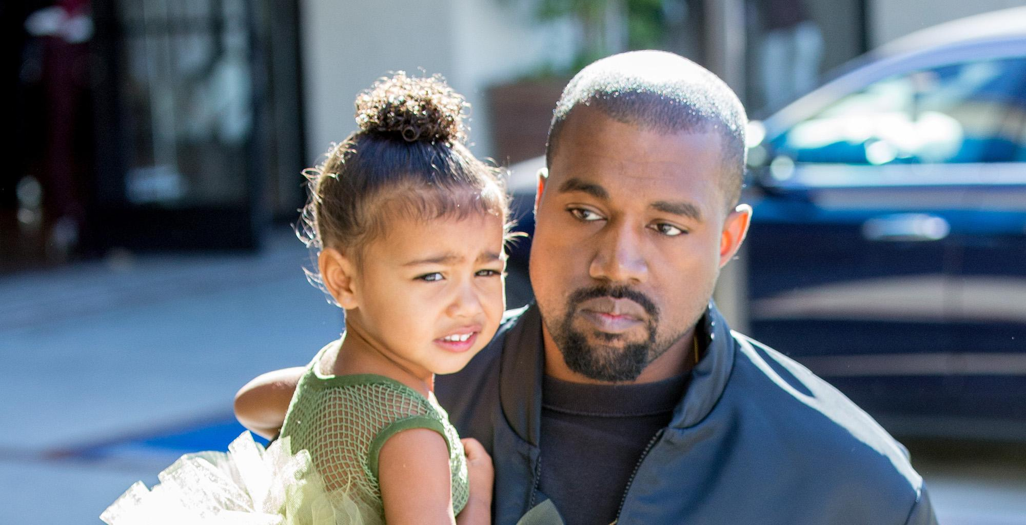 KUWK: North West Once Again Gets All The Attention While On Stage At Dad Kanye West's Sunday Service!