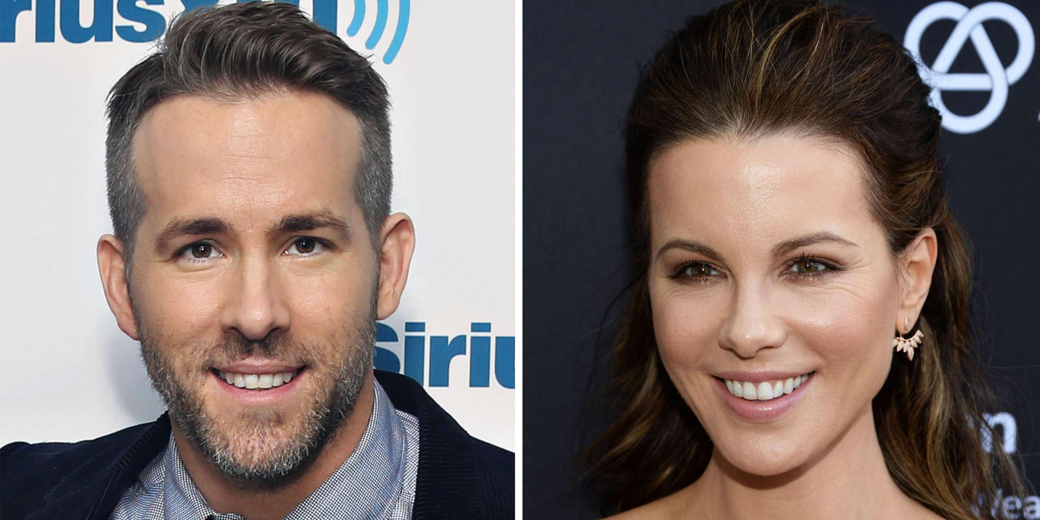 Kate Beckinsale Thinks She And Ryan Reynolds Look Like They Could Be Twins!