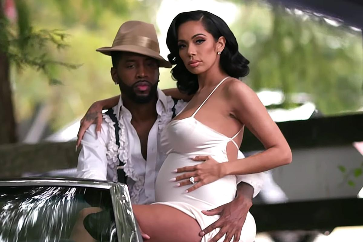 Erica Mena Reveals More Photos From Her Maternity Shoot With Safaree - Fans Are In Awe