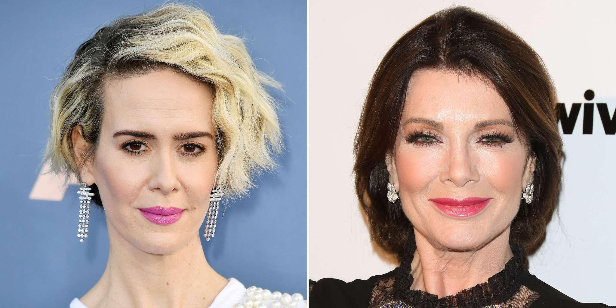 Lisa Vanderpump Poses With Sarah Paulson In Newly Surfaced Pic After She Claimed They Never Met - Fans React!