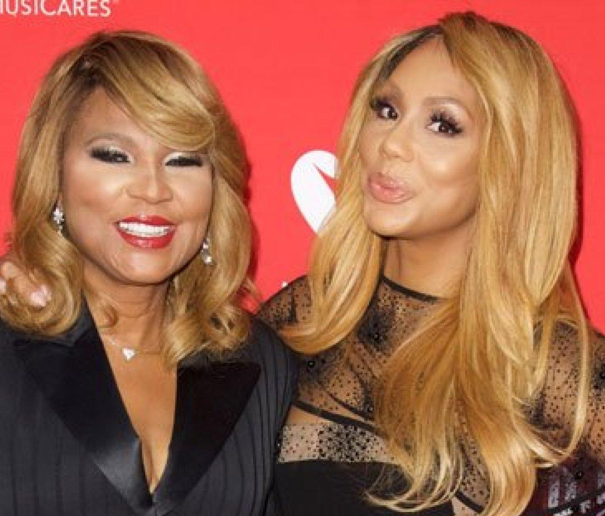 Tamar Braxton Gushes Over Trina And Evelyn Braxton - See The Funny Video