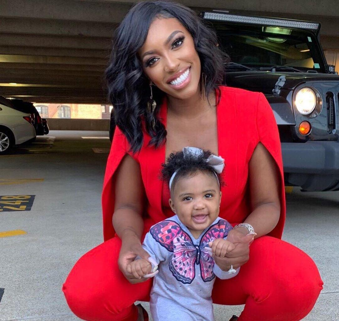 Porsha Williams Gets An Expensive Gift And Her Daughter Pilar Jhena Is Here For It - See The Cute Videos