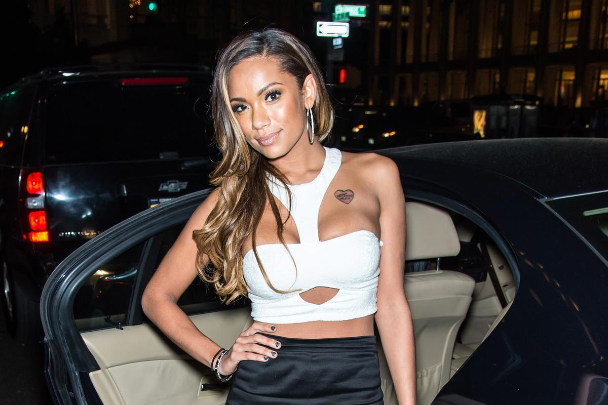 Erica Mena Looked Gorgeous For Her Birthday - See Her Stunning Anniversary Dress