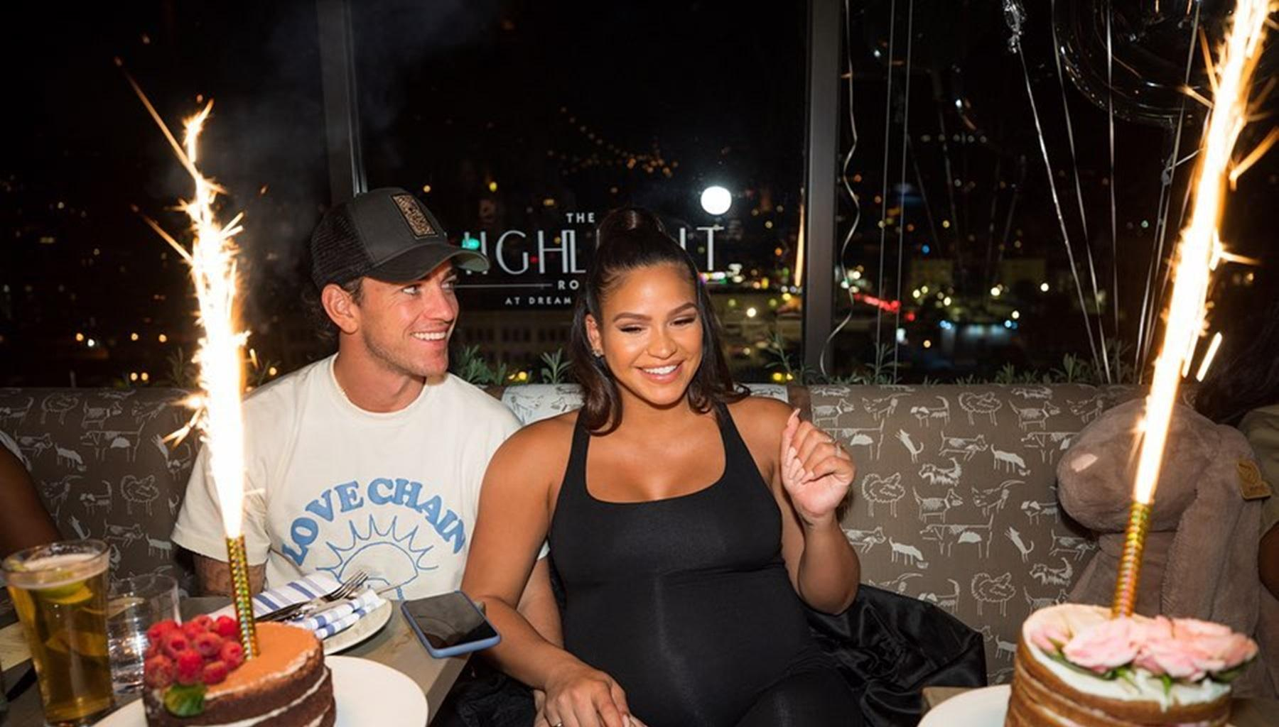 Cassie Shares Photos Of Her Magical Baby Shower As Alex Fine Asked Her A Very Important Question