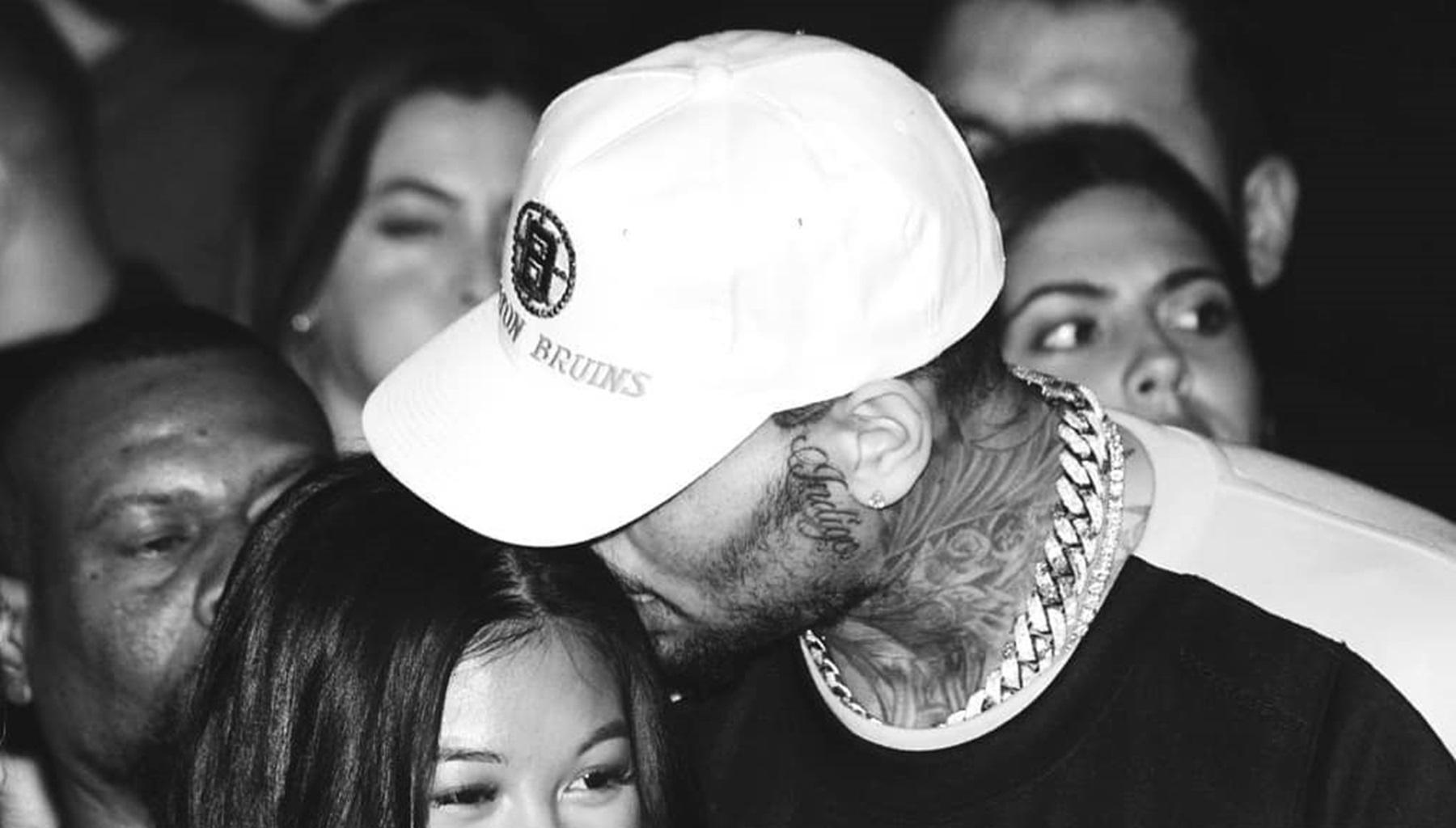 Chris Brown Hints At The Unique Name Of His Baby Boy With  Ammika Harris With Birth Announcement Photos
